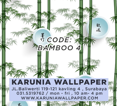 jual wallpaper dinding unik bambu