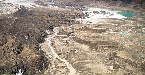 Rio desaparece em apenas 4 dias e choca o mundo - Capa