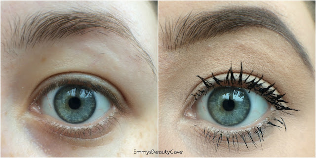 Hi Impact Brows Before and After