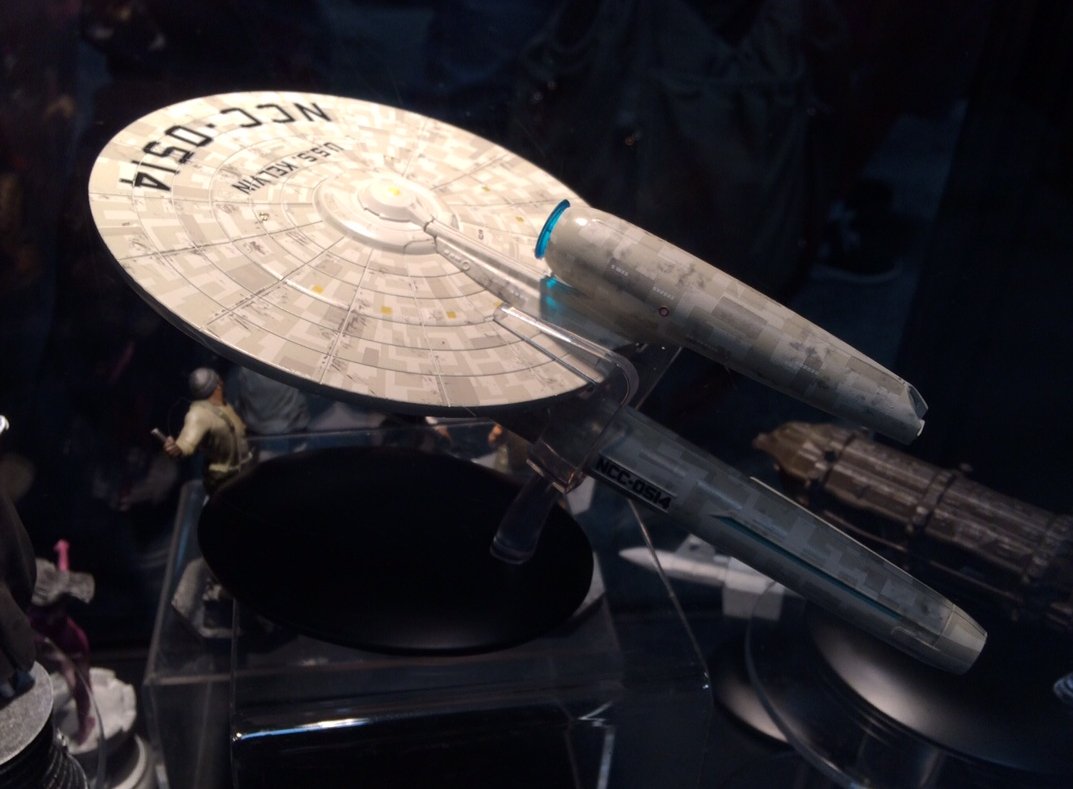 The Trek Collective: Starships Collection's USS Kelvin, SS ...