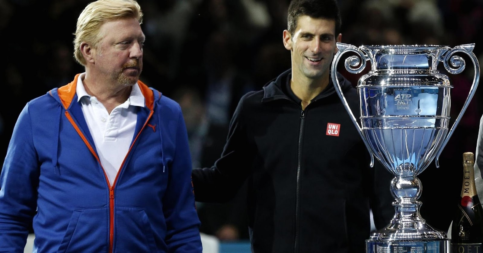 NOVAK DJOKOVIC, BORIS BECKER