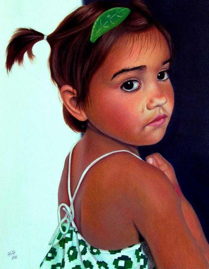 Мягкий портрет. Hannah Hopkins