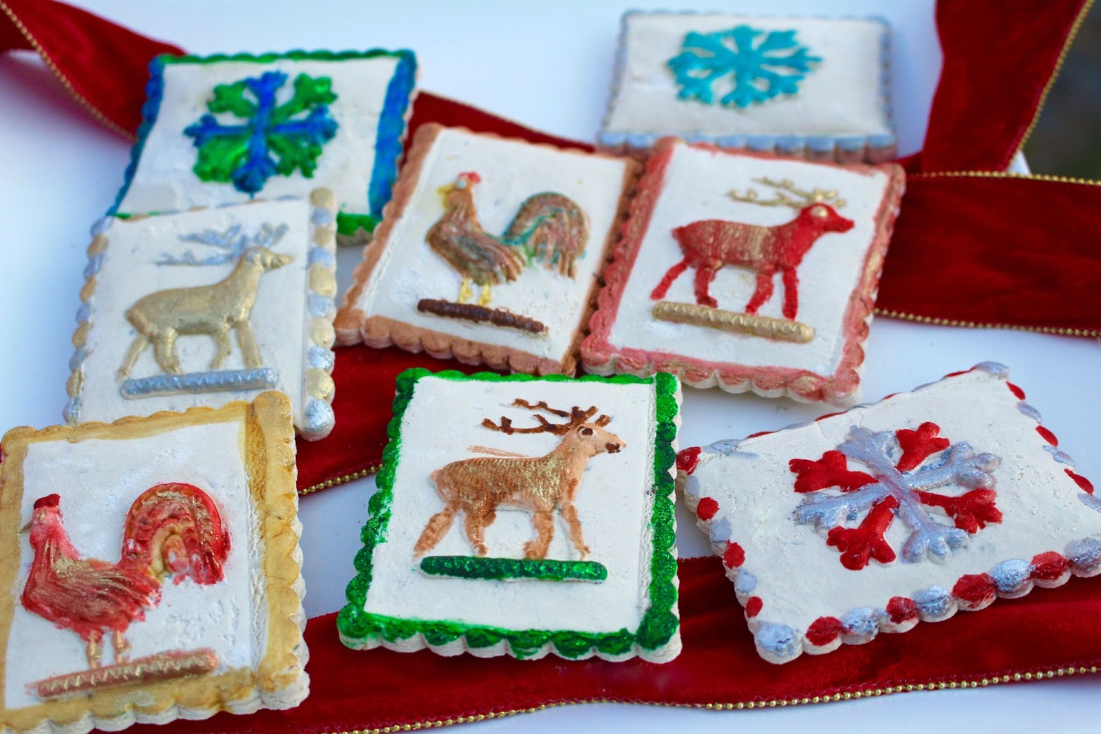 German Traditional Painted Springerle Cookies Diary Of A Mad Hausfrau