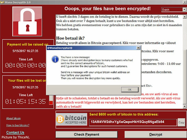 WannaCry Victims Dominated Windows 7 Users
