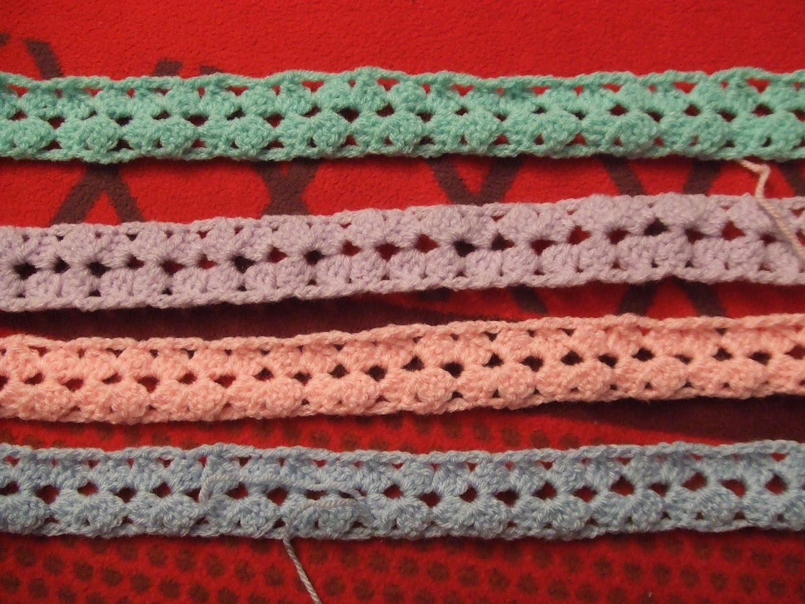 My world of crochet: Mile-a-minute: Pattern