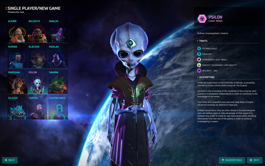 تحميل اللعبة الاستراتيجية Master of Orion Revenge of Antares 2016