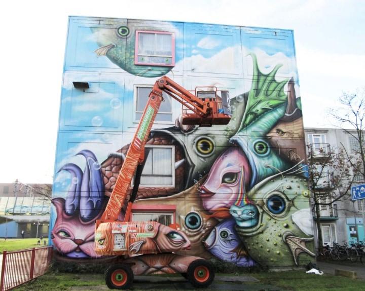 Andre Muniz Gonzaga. Street Art художник 37