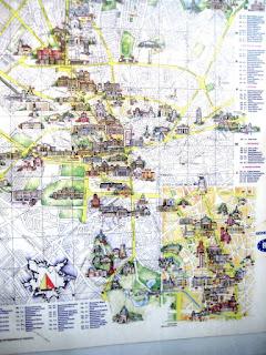 достопримечательности бухареста на карте