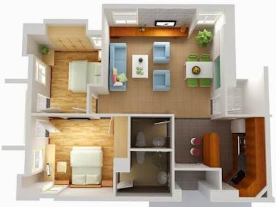 Căn hộ thiết kế tối ưu và tiện dụng