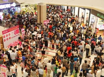 Aeon Tân Phú khai trương mở cửa