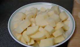 صينية البطاطس باللحم أو الدجاج بالصور خطوة خطوة -أحلى صينية بطاطس باللحمة - طريقة صينية البطاطس باللحم