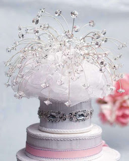 best swarovski wedding cake topper