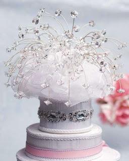 best swarovski wedding cake topper