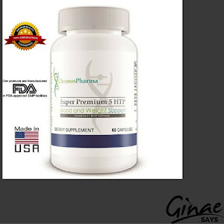 Pure and Natural 5HTP Anti Depressant Mood Enhancer by ChronosParma