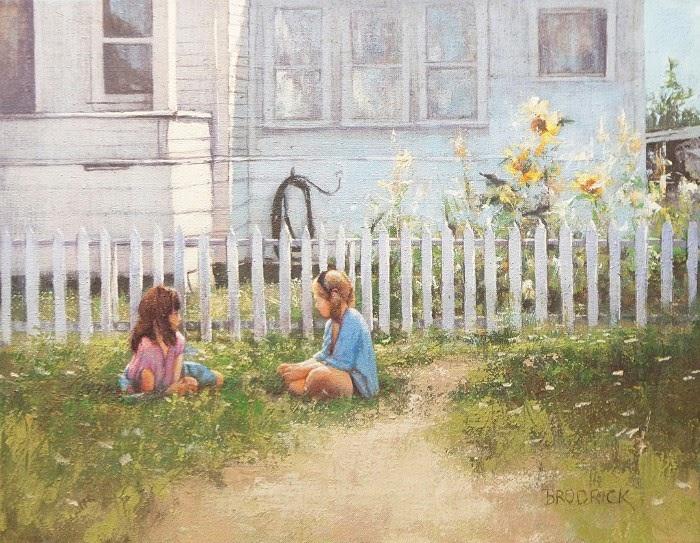 J.M. Brodrick - Afternoon Conversation