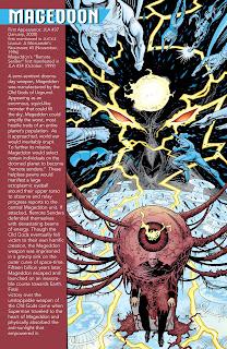 Mageddon Ficha DC Comics