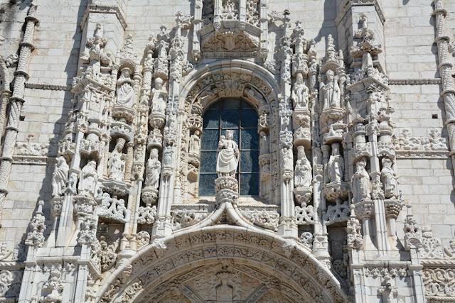 Jeronimos Monastery Lisbon statues