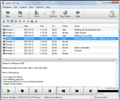 Dictation Software Free Soft Solution