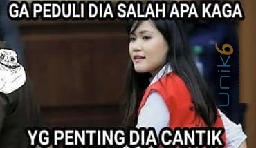 Gambar2 Meme Lucu Sidang Jessica Kumala Wongso Pembunuh Mirna Ngakak