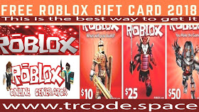 www trcode space: Free Roblox gift cards, How to get Roblox promo