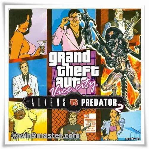 PC Games Free Downloads: GTA vice city aliens vs predator