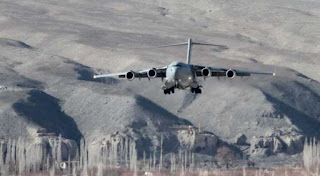 Western Air Command airlifts record 463 tonne load at one go