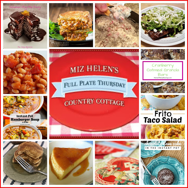 Full Plate Thursday, 418 at Miz Helen's Country Cottage