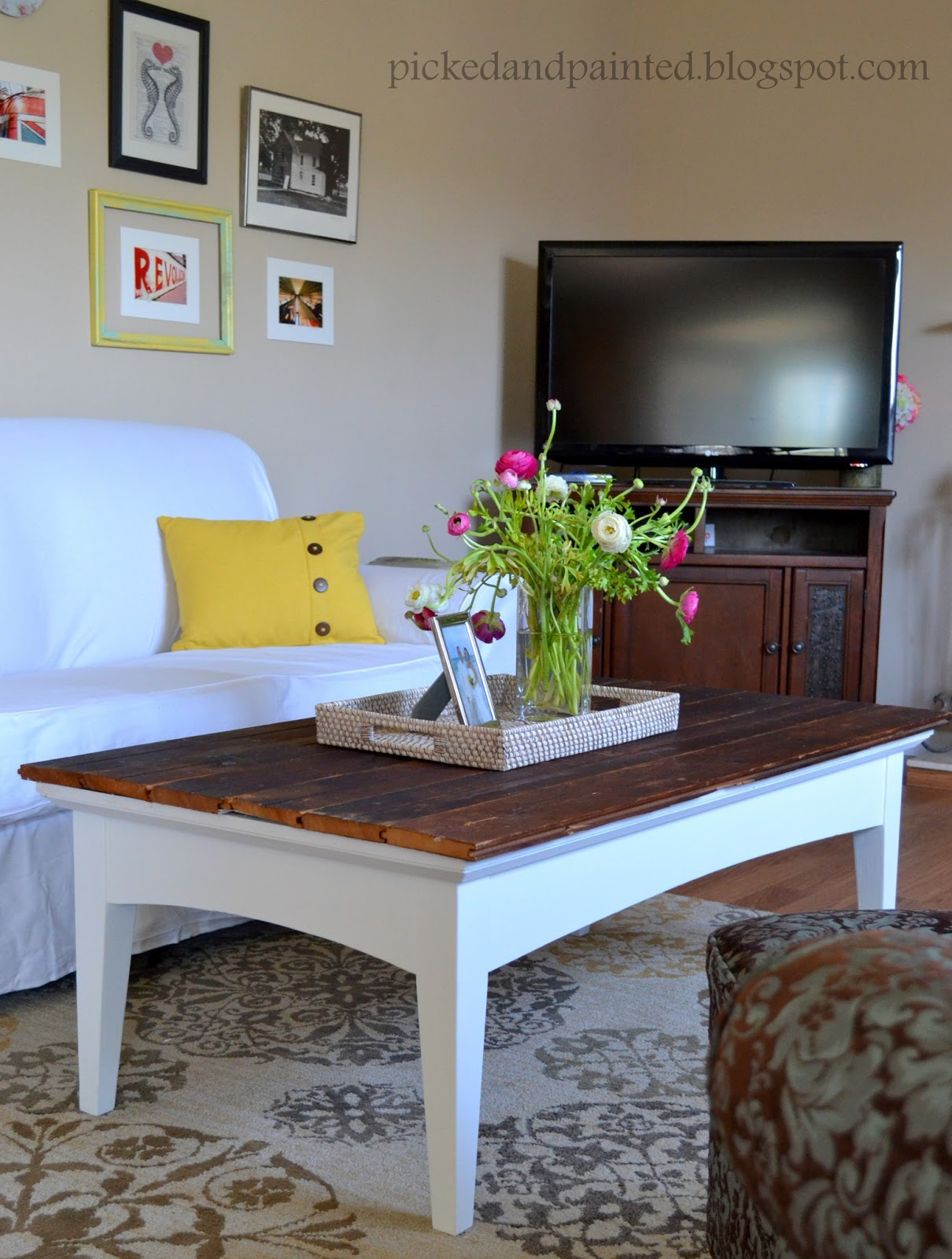Helen Nichole Designs Barn Wood Coffee Table Amp Living