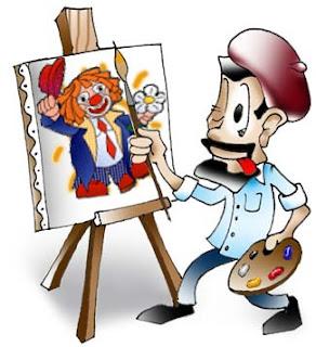 Risultati immagini per prof pittore cartoon