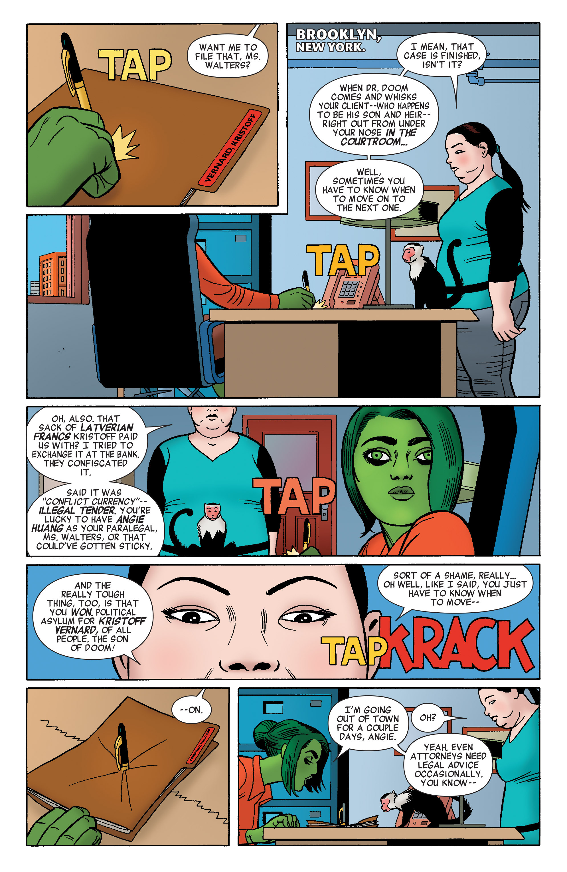 Read online She-Hulk (2014) comic -  Issue #4 - 3