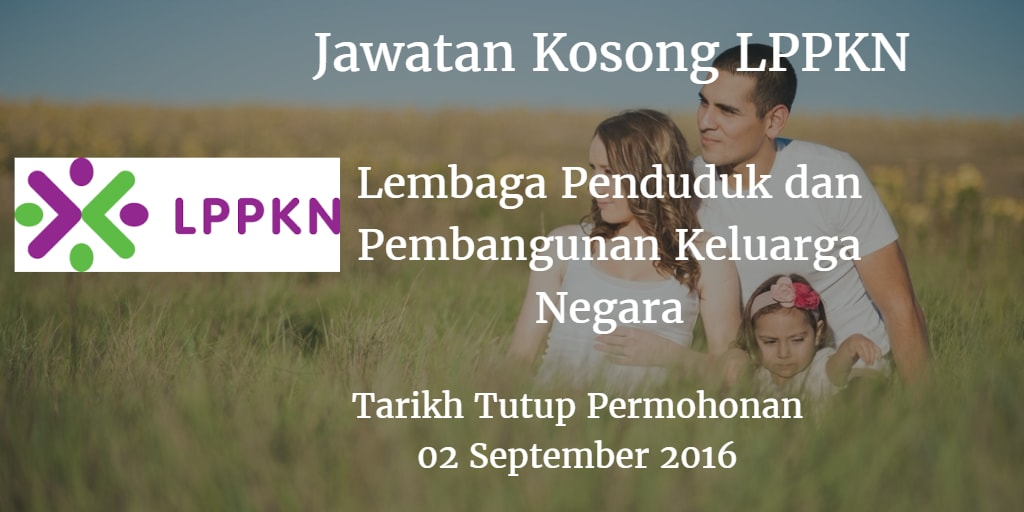 Jawatan Kosong LPPKN 02 September 2016