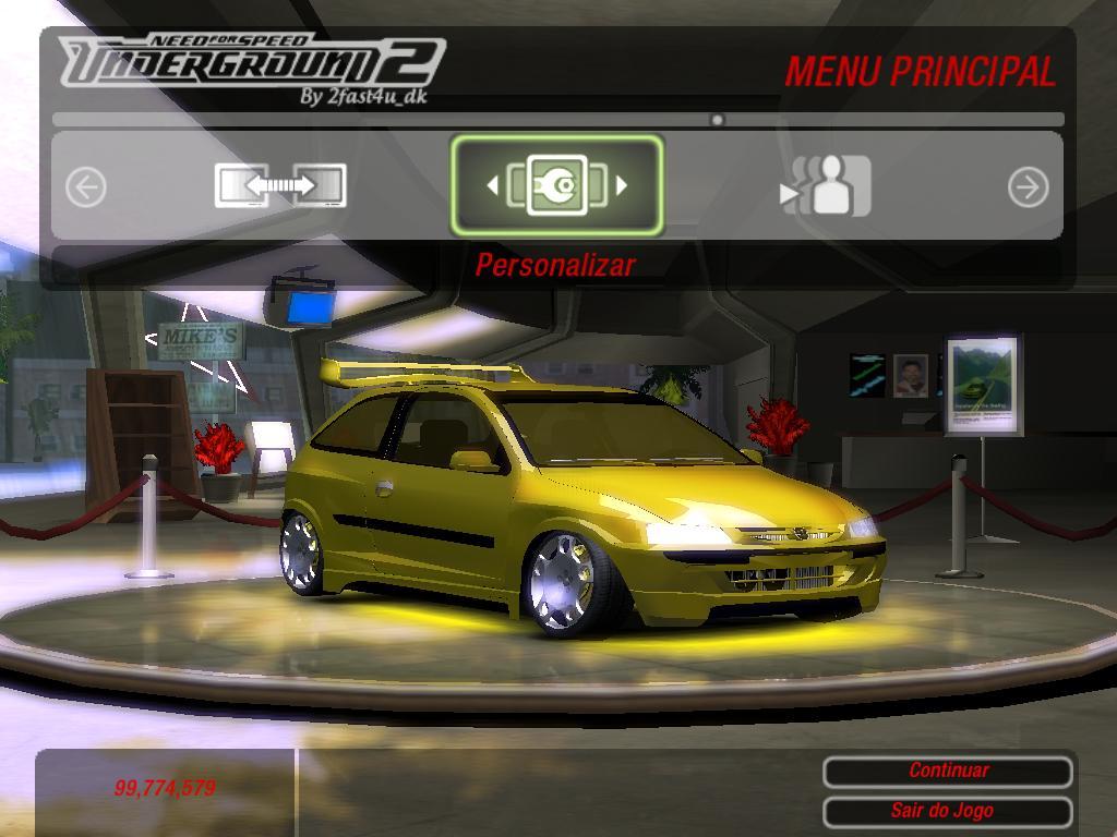 Mod Carros Brasileiros - NFSU2 - NFS RACING™