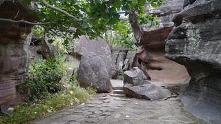 .Bhimbetka's Rock Shelter