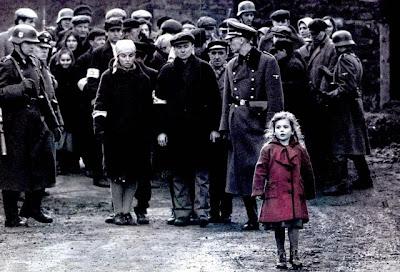 La lista de Schindler Niña de Rojo