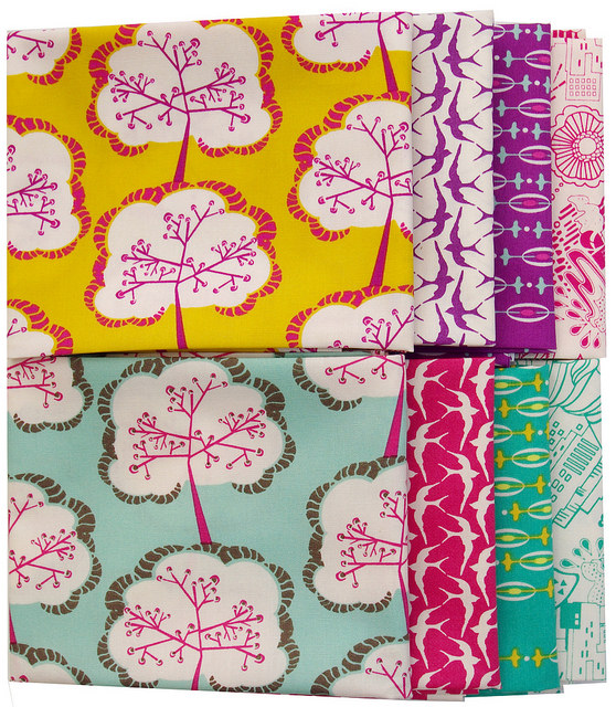 Utopia by Frances Newcombe for Art Gallery Fabric | Red Pepper Quilts