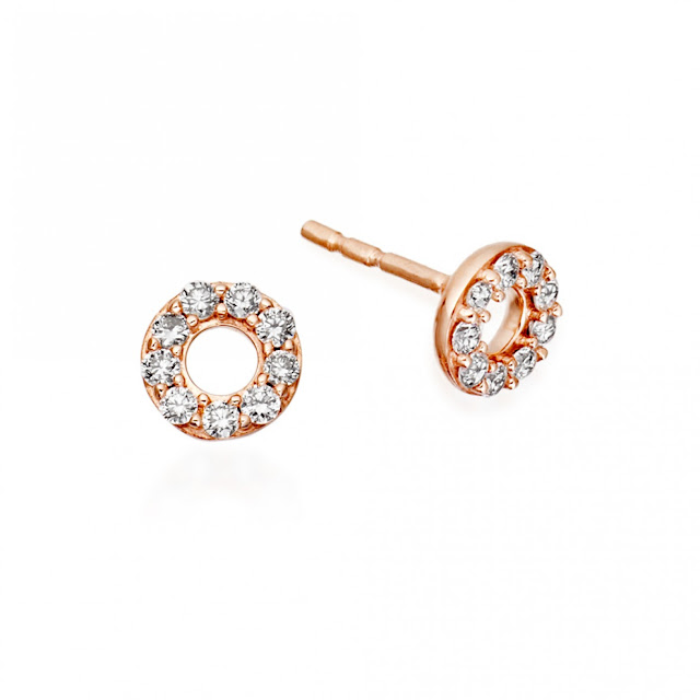 Astley Clarke Mini Halo Stud Earrings - British luxury jewellery - UK style blog