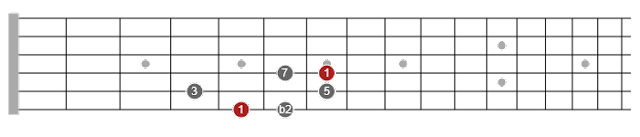 major pentatonic scales