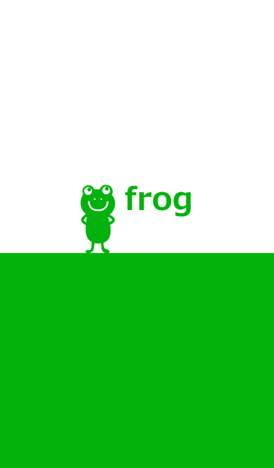 Two tone color and frog 4