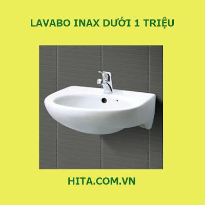 5 mẫu Lavabo Inax dưới 1 triệu bán chạy nhất 2017 - 2018 L-282V