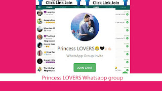 Princess LOVERS Whatsapp group invite link