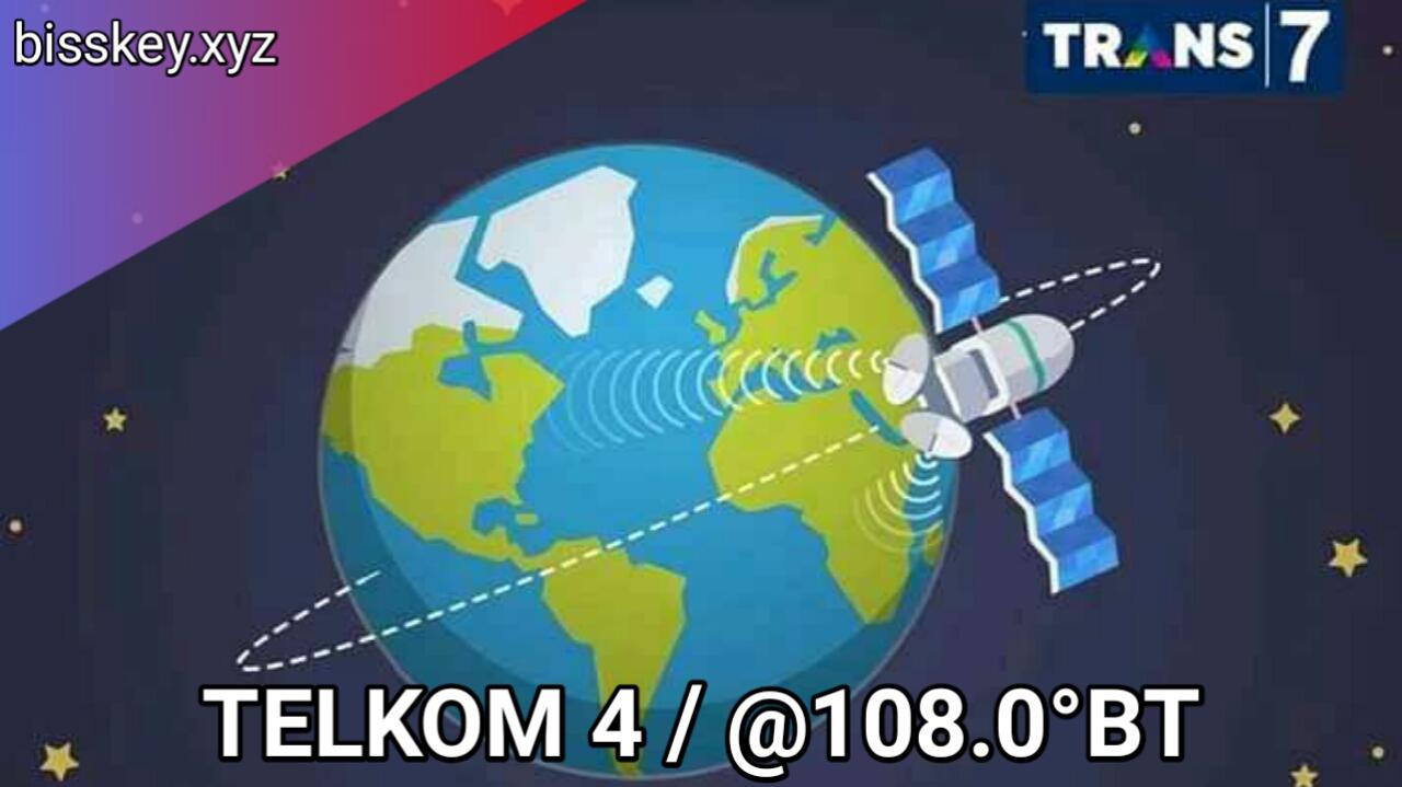 Cara Tracking Trans TV, Trans 7, ANTV di Telkom 4