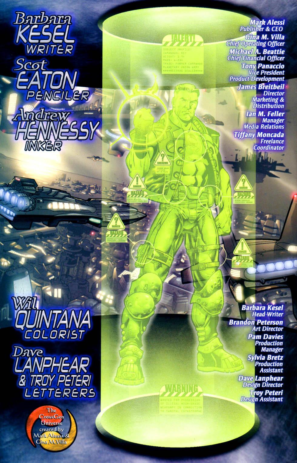 Read online Sigil (2000) comic -  Issue #10 - 23