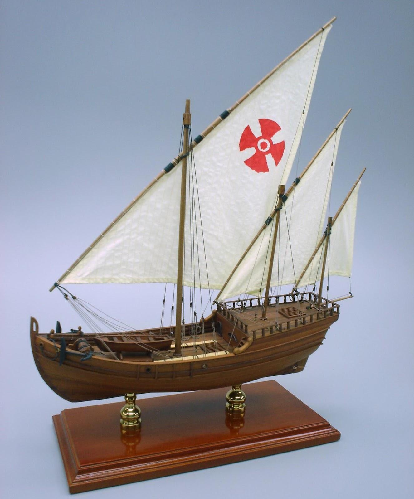Columbus Ship Models