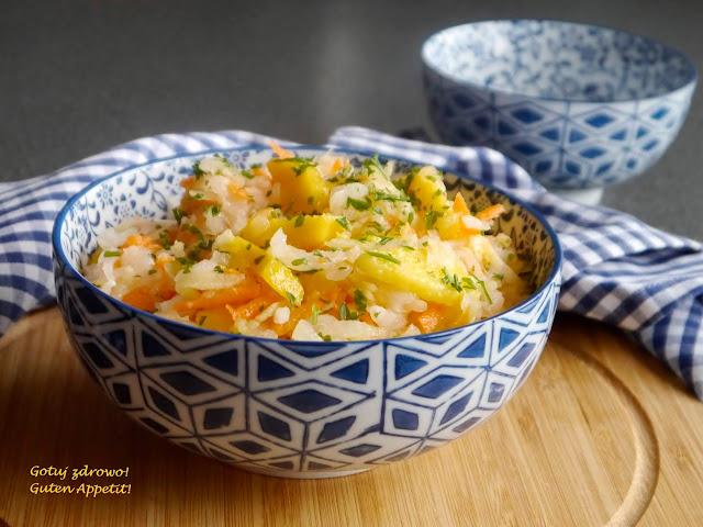 Surówka z białej rzodkwi z mango - fit - Czytaj więcej »