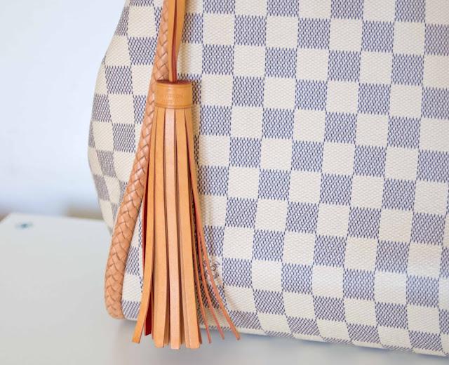 jasny motyw torby Louis Vuitton, lato, wiosna