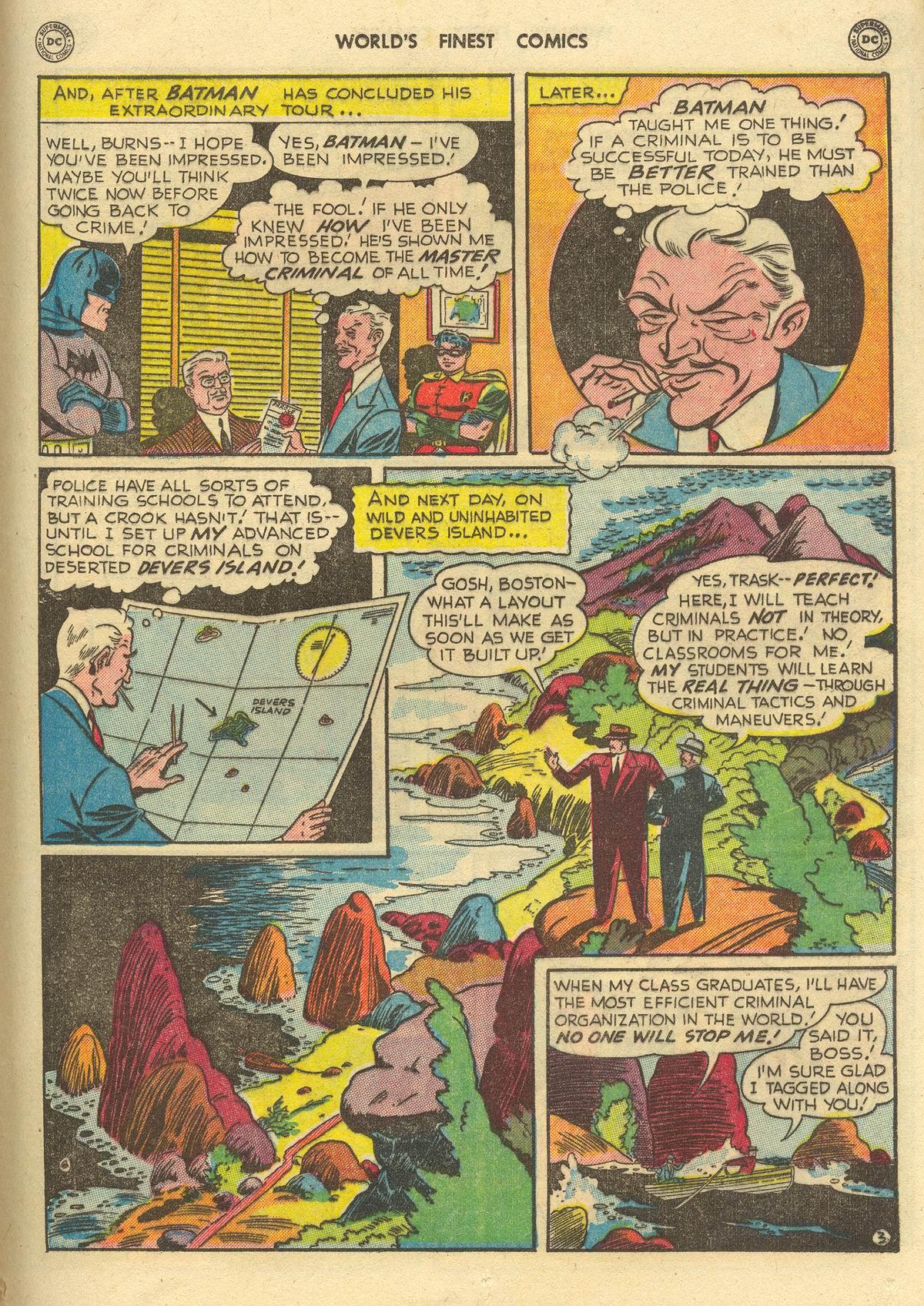 Read online World's Finest Comics comic -  Issue #51 - 65