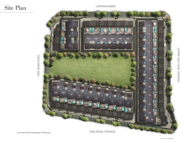 Kismis Residences Siteplan