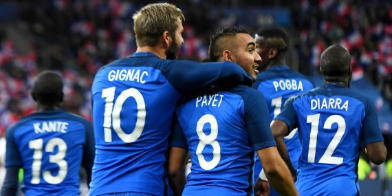 France are joint favourites to win the tournament priced up at 28/10.