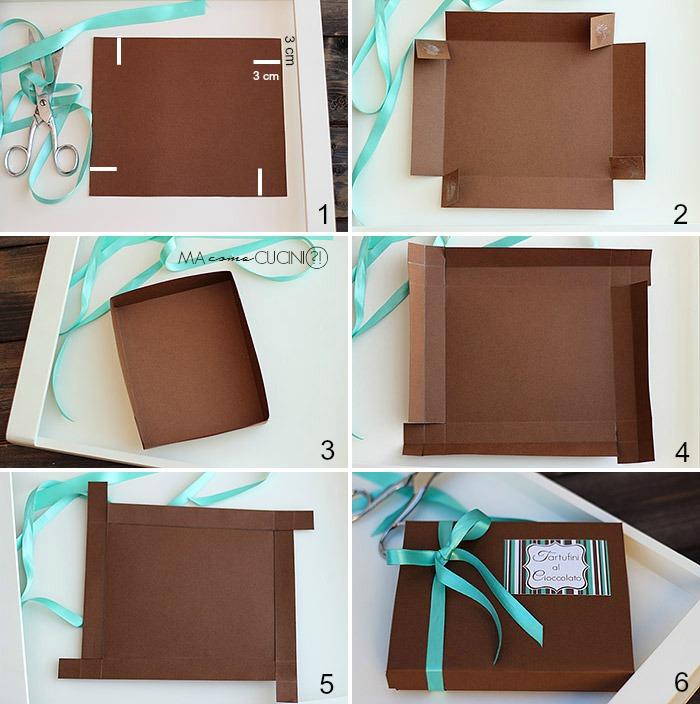 tutorial scatola per cioccolatini