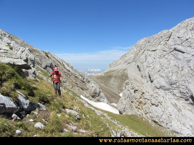 Ruta Peña Castil y Cueva del Hielo: Camino a la cueva de hielo